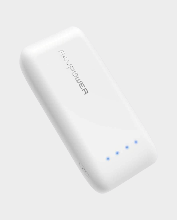 RAVPower Ace Series 6700mah Power Bank with Ismart Technology White in Qatar