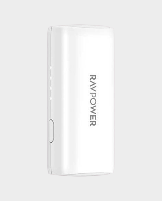 RAVPower Portable Power Bank 3350mah with Ismart QC White in Qatar