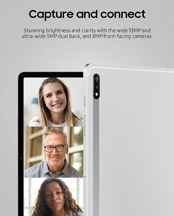 Samsung Galaxy Tab S7+ Wifi 8GB 256GB Mystic Silver