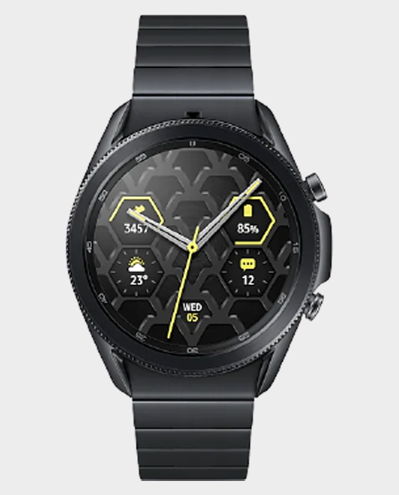 Samsung Galaxy Watch 3 45mm Titanium in Qatar