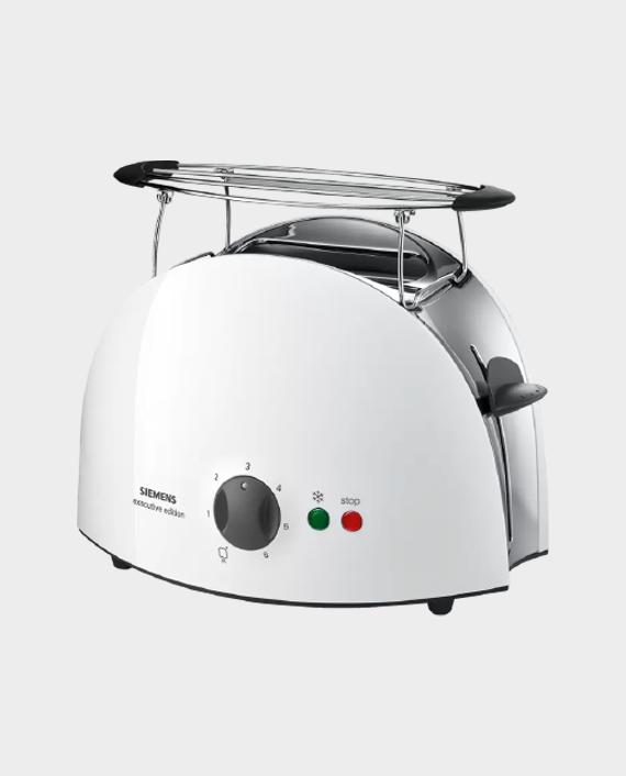 Siemens TT63101GB Compact Toaster White in Qatar