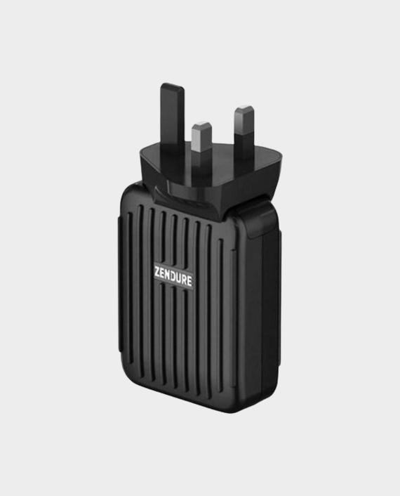 Zendure A3PD External Battery 10000 MAH and 4 Port 30W USB - C Desktop Wall Charger - Black