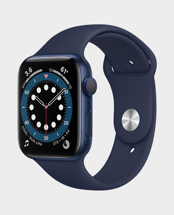 Apple Watch Series 6 M00J3 44mm GPS Blue Aluminium Case with Deep Navy Sport Band