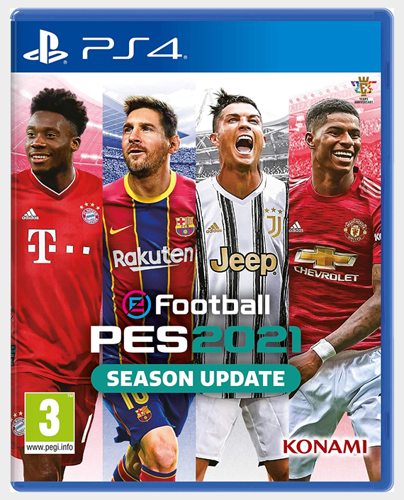 eFootball Pes 2021 Season Update PS4 Arabic in Qatar