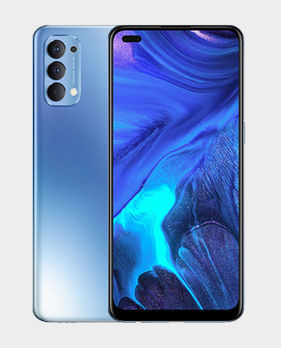 Oppo Reno 4 8GB 128GB Galactic Blue in Qatar