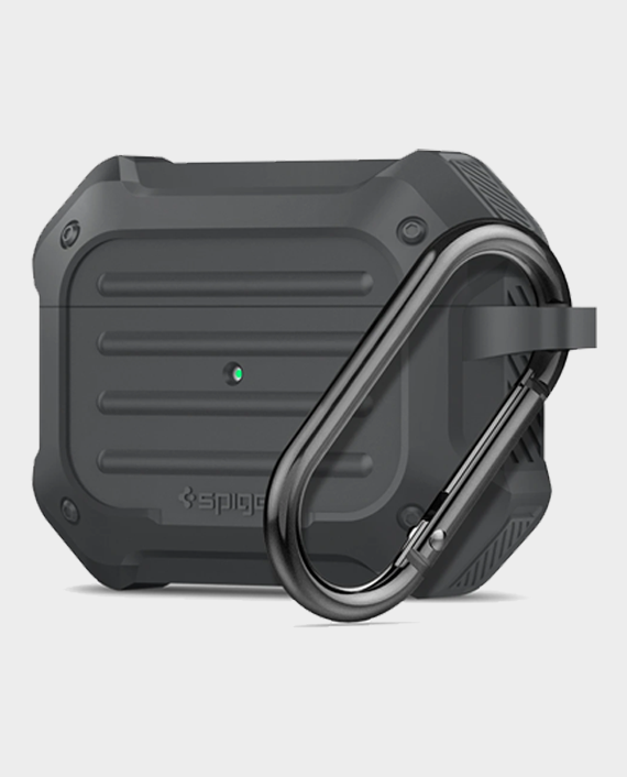Spigen Apple AirPods Pro Case Tough Armor Charcoal in Qatar