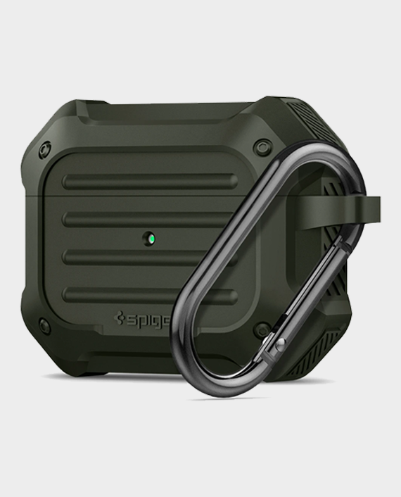 Spigen Apple AirPods Pro Case Tough Armor Military Green in Qatar