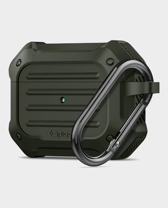 Spigen Apple AirPods Pro Case Tough Armor Military Green in Qatar