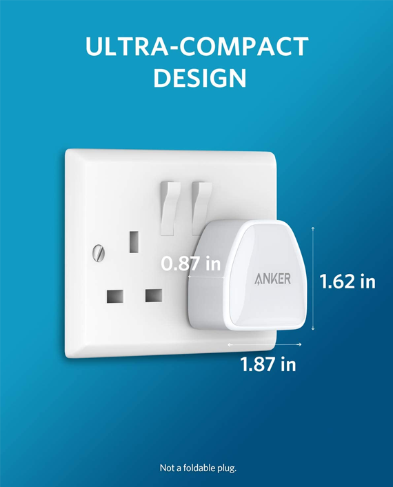 Anker PowerPort III Nano 20W Usb-C Charging Adapter