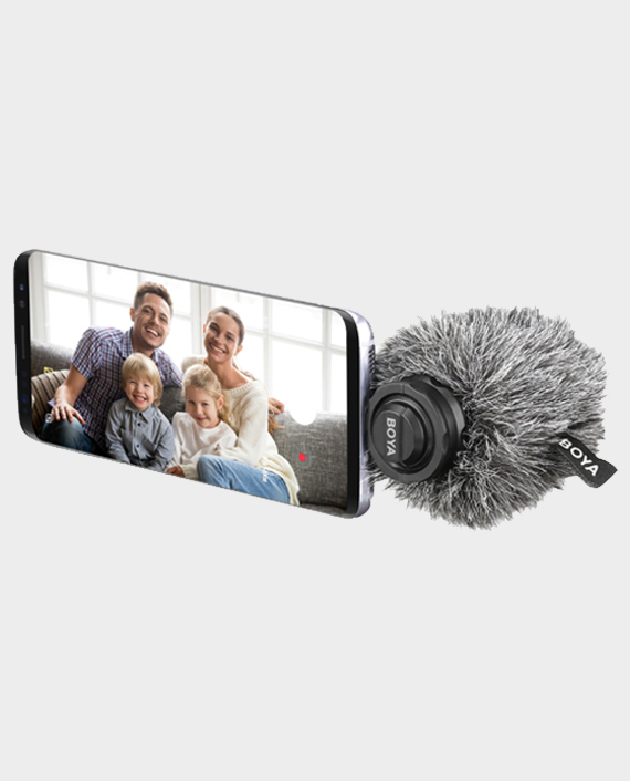 Boya BY-DM100 Digital Stereo Condenser Microphone for Android in Qatar