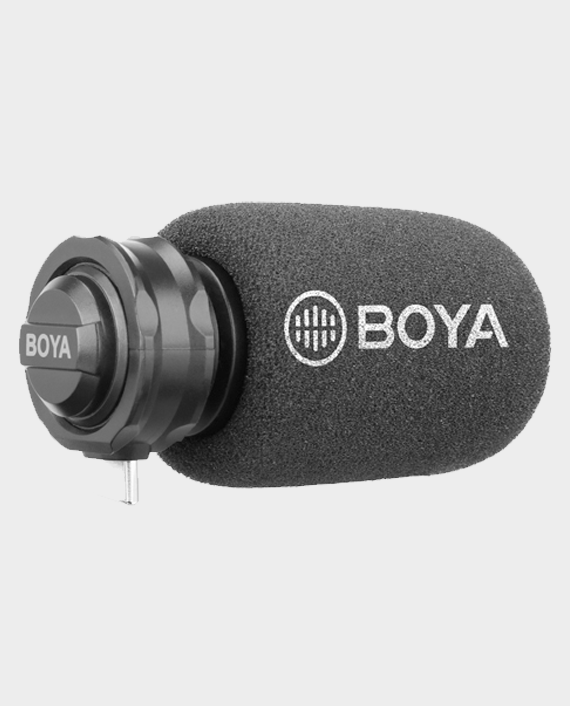 Boya Digital Stereo Condenser Microphone For Android BY-DM100