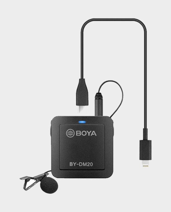 Boya BY-DM20 Dual Channel Recording Kit in Qatar