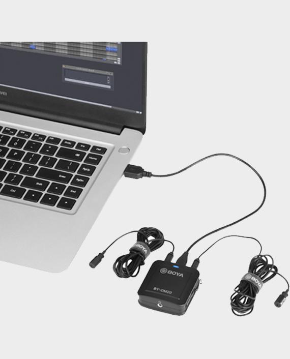 Boya Dual Channel Recording Kit BY-DM20