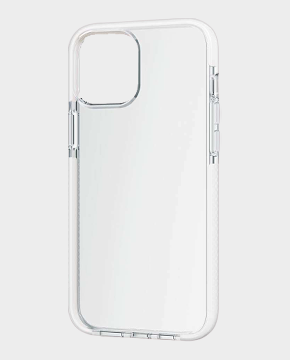 Bodyguardz iPhone 12 Pro Max Ace Pro Slim Pocket Friendly Protective Case White Clear in Qatar