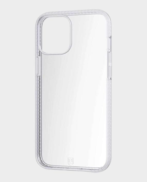 Bodyguardz iPhone 12 Pro Max Split Distinctive Edged Added Protective Case White/Clear in Qatar