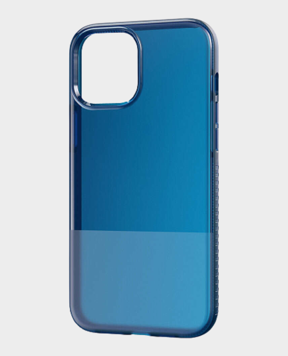 Bodyguardz iPhone 12 Pro Max Stack Protective Bold Two Toned Case Navy in Qatar