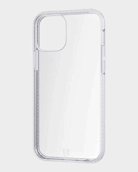 Bodyguardz iPhone 12 Pro Split Distinctive Edged Added Protective Case White Clear in Qatar
