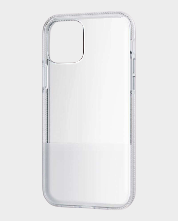 Bodyguardz iPhone 12 Pro Stack Protective Bold Two-Toned Case - Clear/White in Qatar