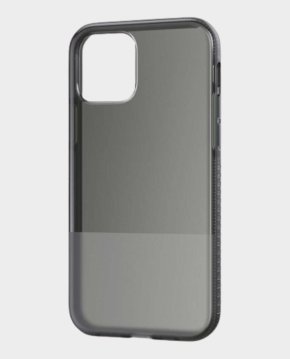 Bodyguardz iPhone 12 Pro Stack Protective Bold Two Toned Case Smoke/Black in Qatar