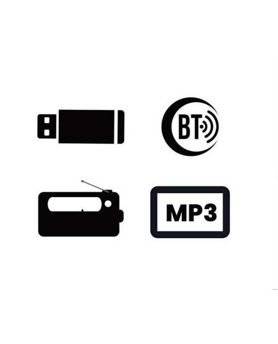 Clikon 2.1 Multimedia Speaker-20W