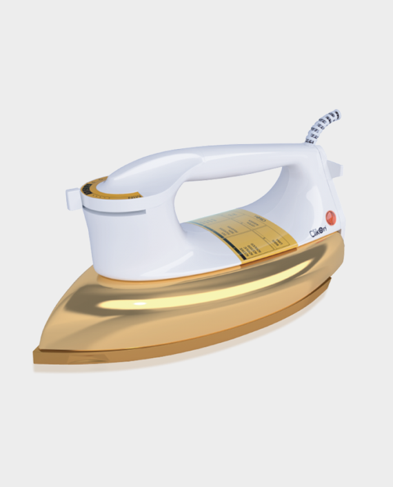Clikon CK2131 Heavy Electric Iron Box Gold in Qatar