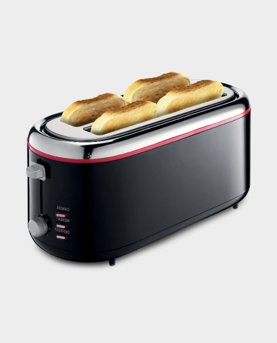 Clikon CK2432 4 Slice Slot Bread Toaster in Qatar