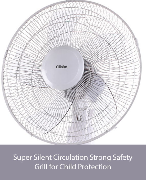 Clikon CK2813-N 16 Inch Stand Fan With Remote