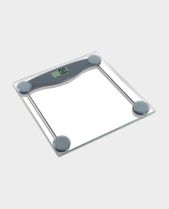 Clikon CK4017 150Kg Digital Bathroom Weighing Scale Grey in Qatar