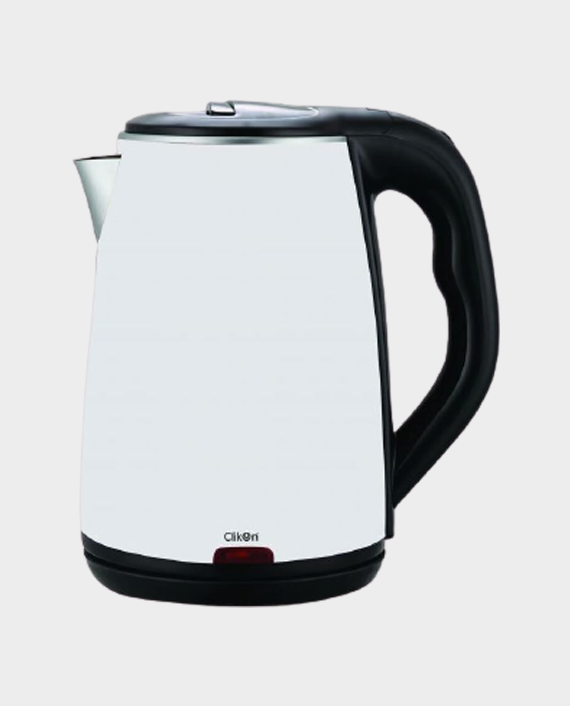Clikon CK5127 1.8 Litre Double Wall Kettle White in Qatar