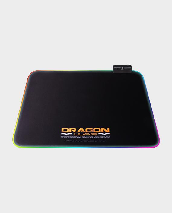 Dragon War GP-009 RGB light effect Gaming Mouse Pad Black in Qatar