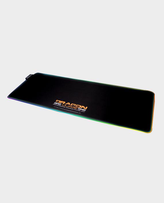 Dragon War GP-010 RGB Light Effect Gaming Mouse Pad Black in Qatar