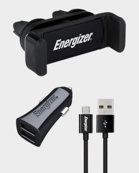 Energizer Air Vent Charging Car Kit with Micro Cable in Qatar