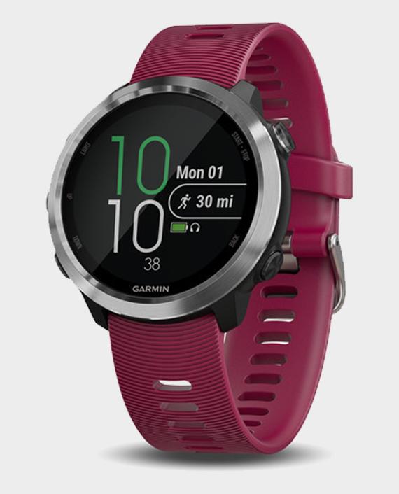 Garmin Forerunner® 645 Music Smart Watch Cherry Red in Qatar
