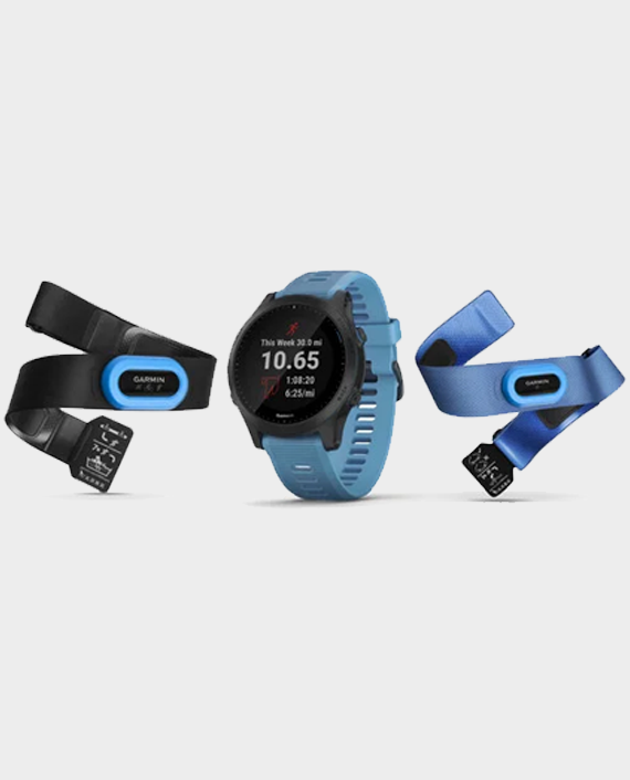 Garmin Forerunner 945 Smart Watch Blue (Bundle) in Qatar