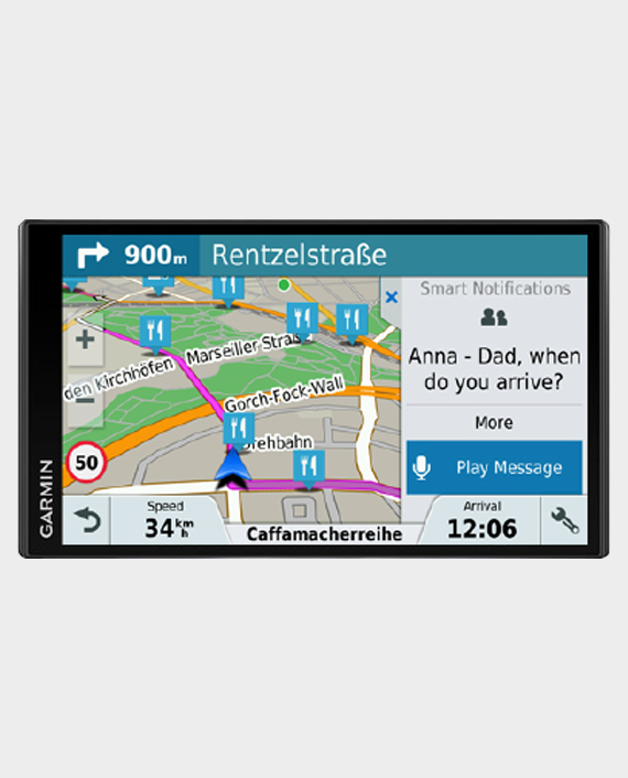 Garmin 010-01681-13 Drive Smart 61 Full Eu Lmt D GPS Navigation Device Black in Qatar