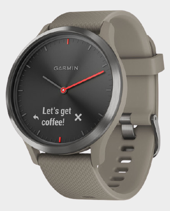 Garmin 010-01850-03 Vivomove HR Smartwatch Sandstone