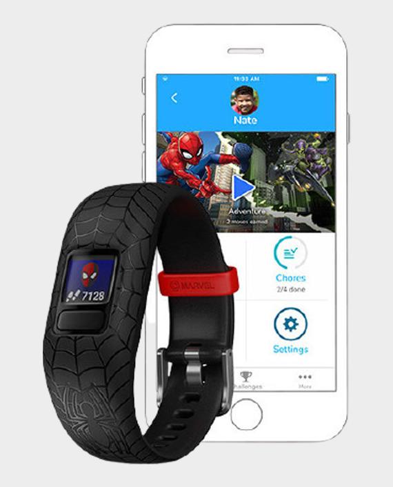 Garmin 010-01909-17 Vivofit Jr.2 Adjustable Smartwatch Marvel Spider-Man
