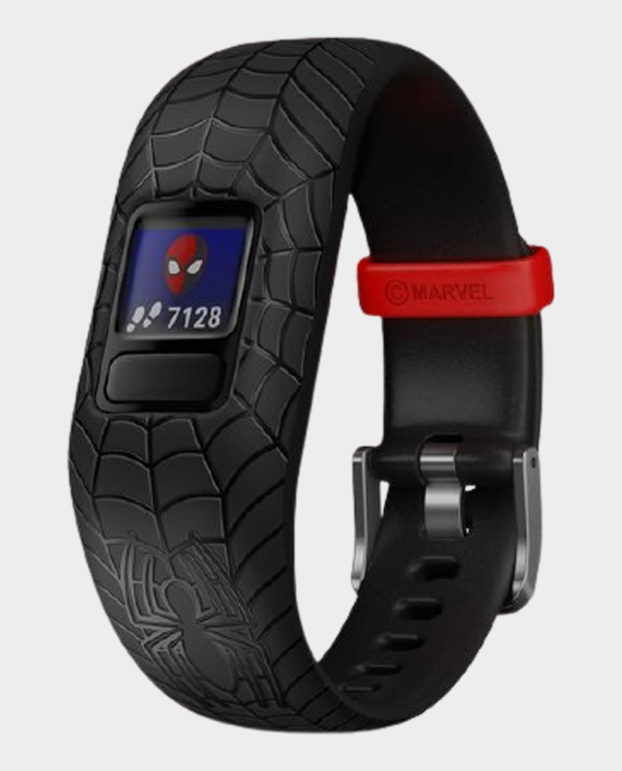 Garmin 010-01909-17 Vivofit Jr.2 Adjustable Smartwatch Marvel Spider-Man Black in Qatar