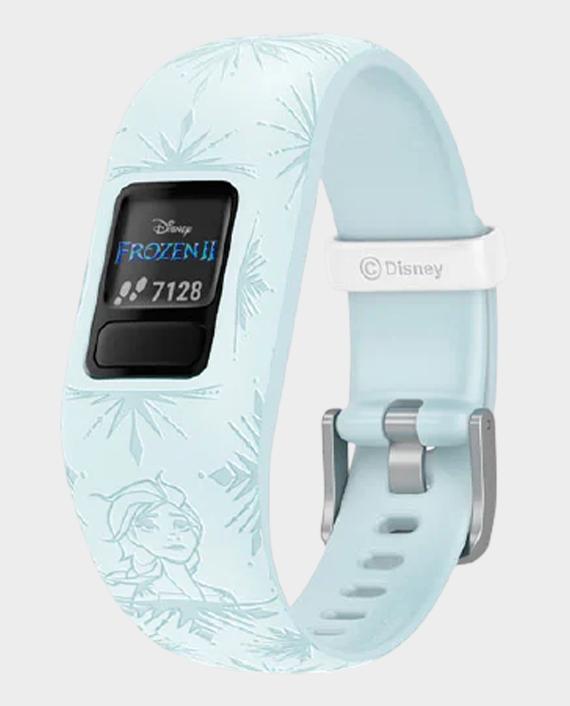 Garmin 010-01909-18 Vivofit Jr.2 Adjustable Smartwatch Disney Frozen 2 Elsa in Qatar
