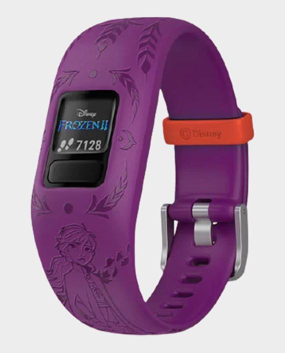 Garmin 010-01909-19 Vivofit Jr.2 Adjustable Smartwatch Disney Frozen 2 Anna in Qatar