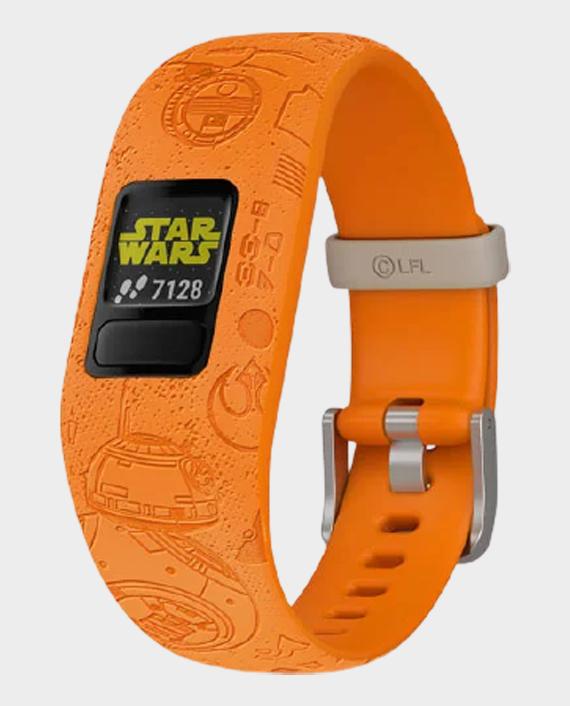 Garmin 010-01909-1A Vivofit Jr.2 Adjustable Smartwatch Star Wars Light Side in Qatar