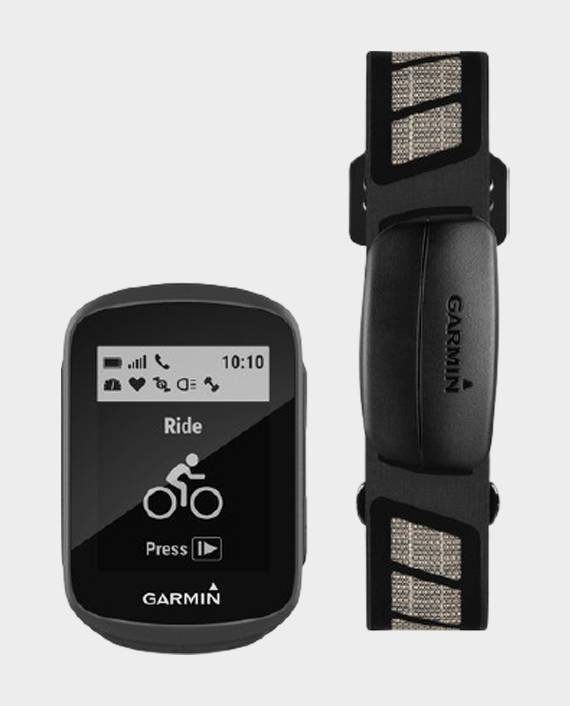 Garmin 010-01913-06 Edge 130 HR Bundle GPS Device in Qatar