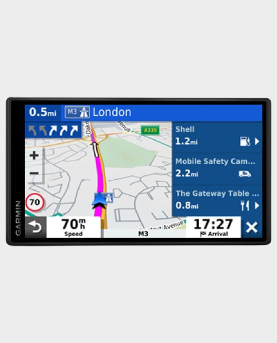 Garmin 010-02038-53 Drive Smart 65 Travelers Edition Mena Eu Na GPS Navigation Device Black in Qatar