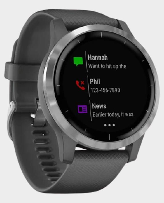 Garmin 010-02174-02 Vivoactive 4 Smartwatch