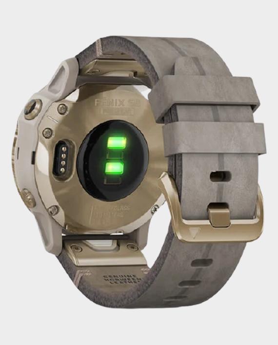 Garmin 010-02409-26 Fenix 6S Pro Solar Edition Smartwatch