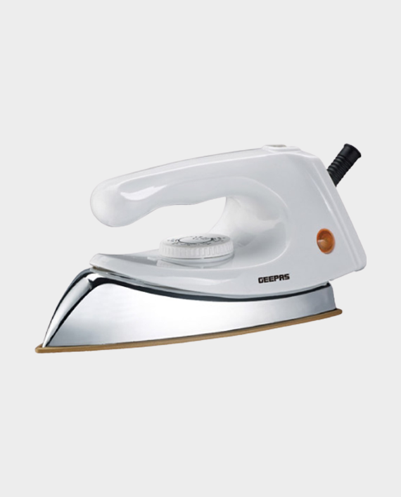 Geepas GDI7773 Automatic Dry Iron With Nonstick Coating Soleplate in Qatar
