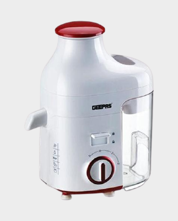 Geepas GJE5479 250W 1.2L Juice Extractor White in Qatar