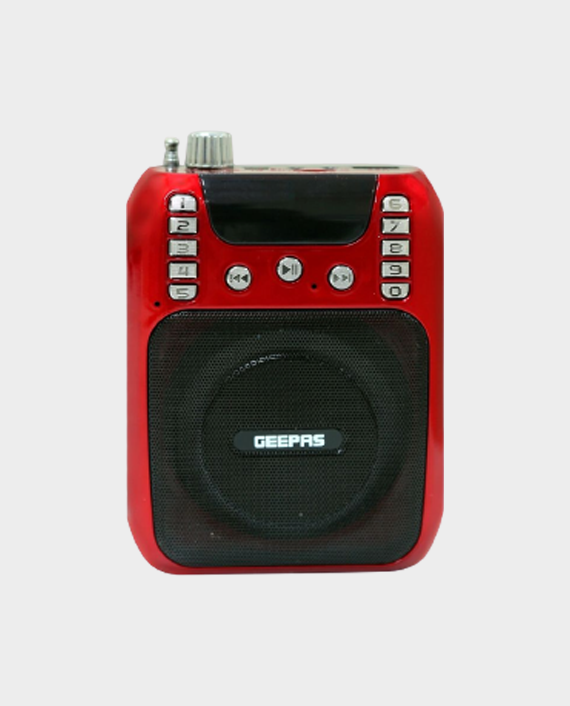 Geepas GMP15013 Rechargeable Mini Speaker with Headset