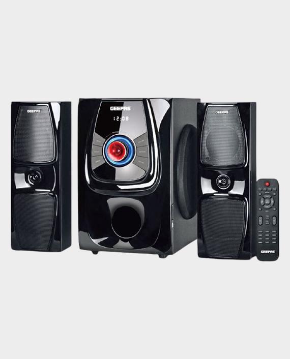 Geepas GMS11119 2.1 Multimedia Speaker System Black