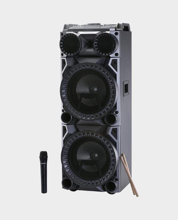Geepas GMS11122 Professional Speaker with Drum Kit Panel in Qatar